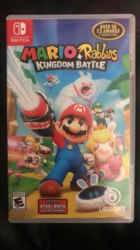 Nintendo switch mario rabbids kingdom battle game case