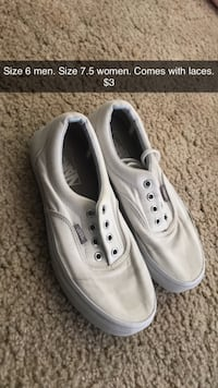 White vans shoes  Tulare, 93274