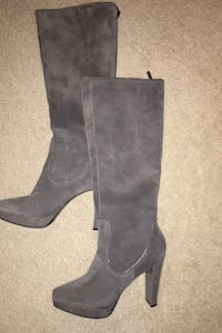 Size 10 Tall Suede and Leather Boots Alexandria, 22315