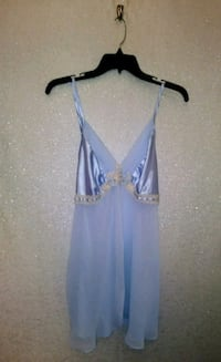 LIGHT BLUE BABYDOLL NIGHTY
