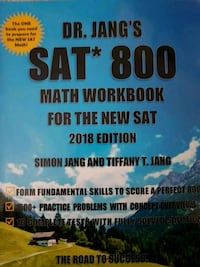 SAT 800 Math Workbook For The New SAT 2018 Edition Mississauga, L5M