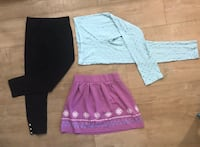 American Girl brand leggings and skirt  2242 mi