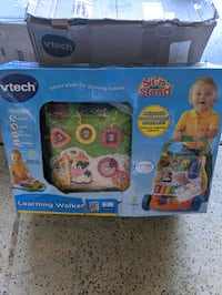 VTECH SIT TO STAND LEARNING WALKER NEW IN BOX Stockton, 95212