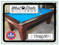 New Diamond Pro Am Pool Table (pool tables) Fullerton