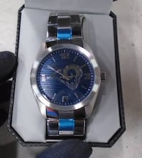 OFFICIAL GAME TIME ELITE NFL MEN'S WATCH St Louis Rams Stainless Steel     Brand new in the box.    Toronto