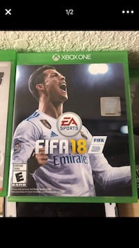 Xbox one ea sports fifa 17 game case