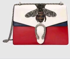 Gucci leather bee edition purse