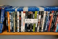 assorted Blu-ray movie cases Nanaimo, V9R 2T2