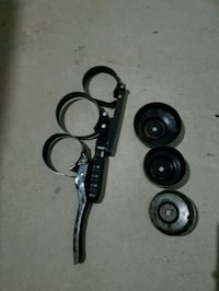 Oil filter wrench and adapters