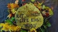 Kat and Drew Live Edge Wood Frederick