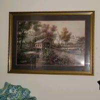 16x20 country church with covered bridge Flowood, 39232