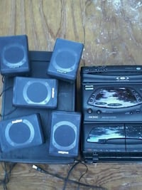 3disc cd player an 8inch subwoofer an 5 surround s Ocala, 34479