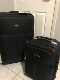 Two pieces suitcases