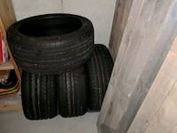 4 NEW staggered tires. Cedar Lake, 46303