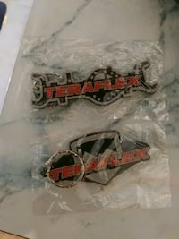 Pair of rubber Teraflex keychains Mississauga, L5B 2C9