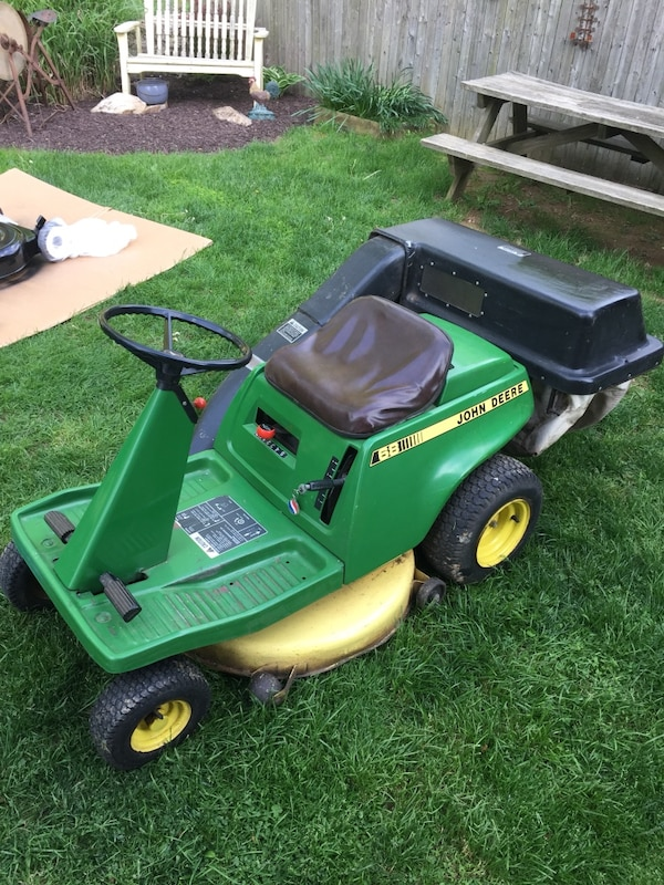 Used John Deere Riding Mower Lawn Mower For Sale In Exeter