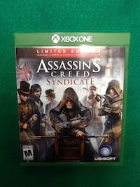 Assassin's Creed Syndicate Limited Edition for Xbox One Ashtabula, 44004