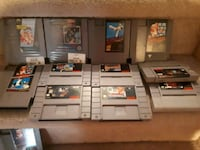 assorted Nintendo game cartridges collection Halton Hills, L7G 2R5