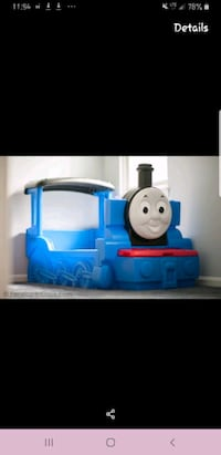 Rare Thomas the Train toddler bed