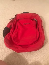 Red Jansport Backpack Fairfax, 22033
