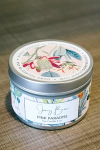 Pink Paradise Soy Candle