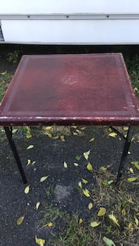 Vintage Sampson Folding Card Table Philadelphia, 19114