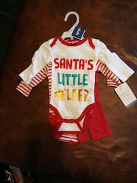 3piece set Xmas set size 0-3 months  Baltimore, 21224