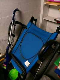 blue and black rollator walker Columbus, 43206