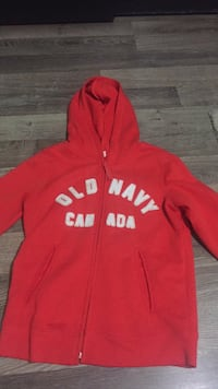 Old navy red zip up
