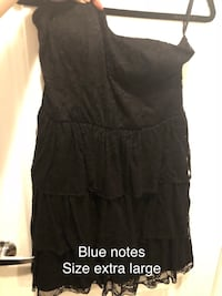 black scoop-neck sleeveless dress Bradford West Gwillimbury, L3Z 0G8