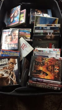 Assorted dvd movie case collection 150 DVDs