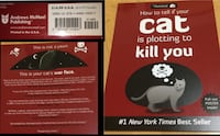 HOW TO TELL IF YOUR CAT IS PLOTTING TO KILL YOU...by The Matthew Inman..EUC* age TEEN 15+ North Vancouver, V7M 1B4