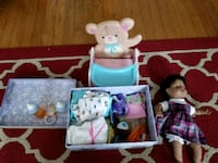 BABY DOLL AND ACCESSORIES! Kitchener, N2G 1W4