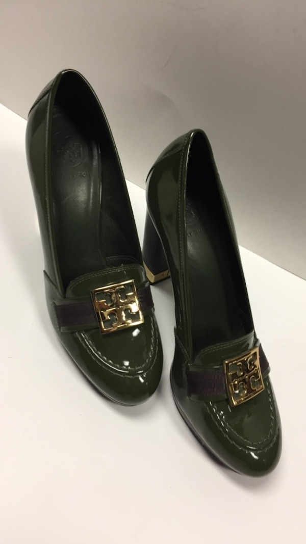 615a7c252 Used Tory Burch green shoes 8 1 2. Super nice! for sale in Tallahassee -  letgo
