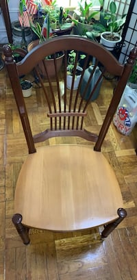 Dinner set of four chairs Mahogany wood Yonkers, 10701