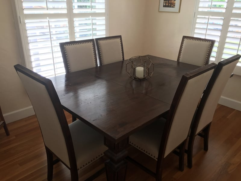 Used 6 Piece Cost Plus Dining Room Set