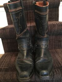 Men's Sendra leather biker boot size 42 Milton, L9T 2S2