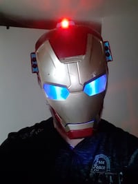Iron Man Mask... $20 Firm... Calgary