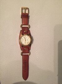Michael kors leather watch! Great condition!