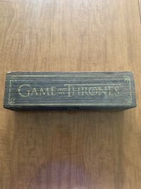 Game of Thrones shot glass set with case