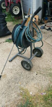 Heavy duty Pressure washer hose and reel cart Irving, 75060