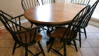 oval brown wooden-top dining table Birmingham, 35216