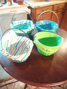 4 easter baskets