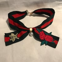 Adjustable ribbon choker Fredericksburg, 22408