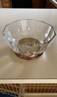 Fine crystal and silver plated bowl. Kennett Square, 19348