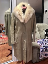 Vintage Leather And Fur Coat, Large Toronto, M4L 2X9