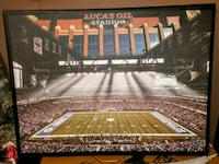 Lucas oil stadium,  home of the Colts canvas paint Evansville, 47711