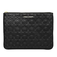 Comme des Garçons CDG Embossed Clover Pouch/ Clutch Chicago, 60601