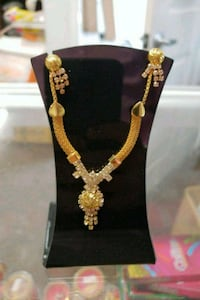 Necklace and Ear Rings Combo Gold Plated New  Lorton, 22079