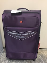 Suitcase. New. Never used.